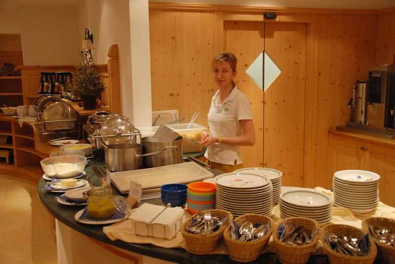 Das Kinderbuffet im Familienhotel Sonnwies