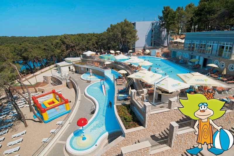 Familienhotel Losinj: Das Kinderhotel Vespera in Kroatien