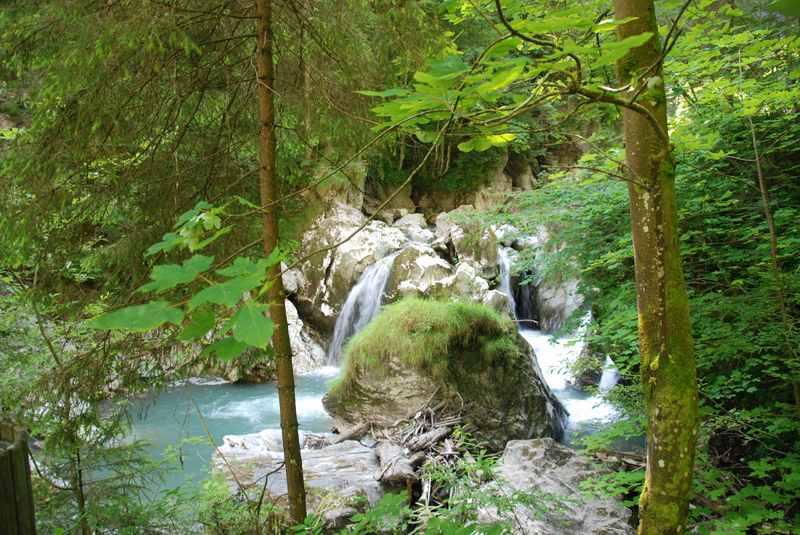 Klamm Salzburger Land: Die Kitzlochklamm in Taxenbach