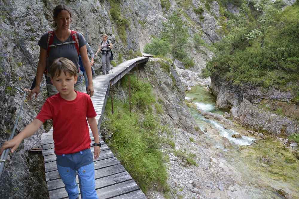 Familienurlaub Niederösterreich - einer der schönsten Plätze: Die Ötschergräben