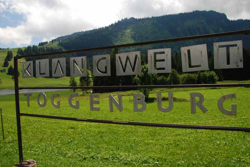 Ein tolle Themenweg in der Ostschweiz: Der Klangweg Toggenburg