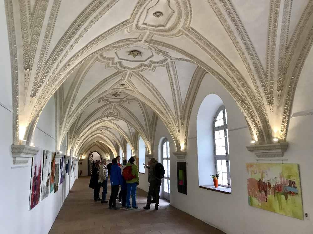 Das Kloster Benediktbeuern mit Kindern - unser Besuch im Kreuzgang
