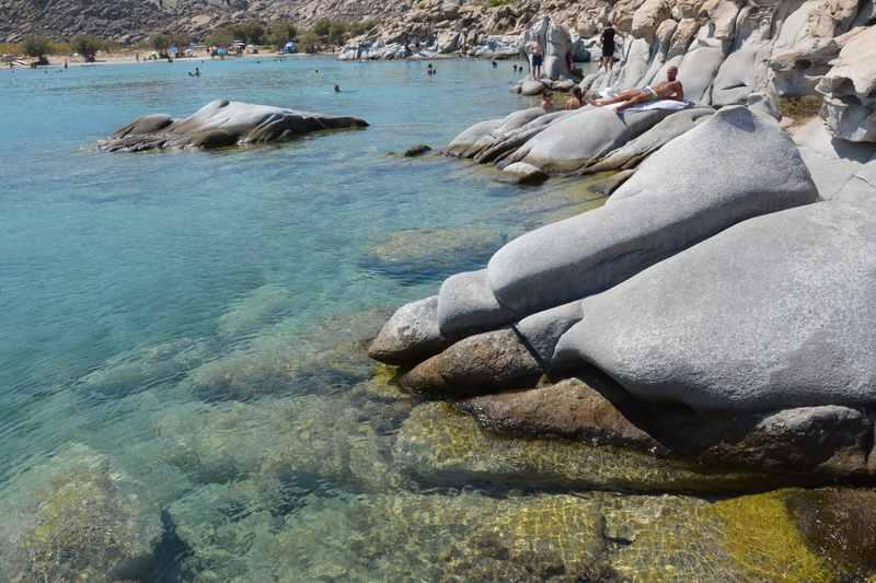 Einzigartiger Strand auf der Insel Paros: Kolymbithres