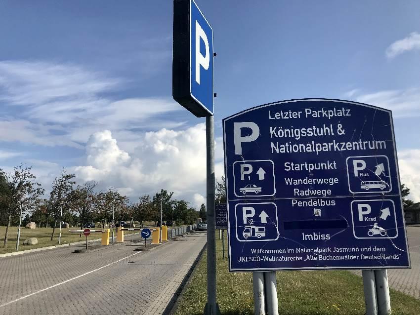 Kreidefelsen Rügen parken - Wo geht es günstig?