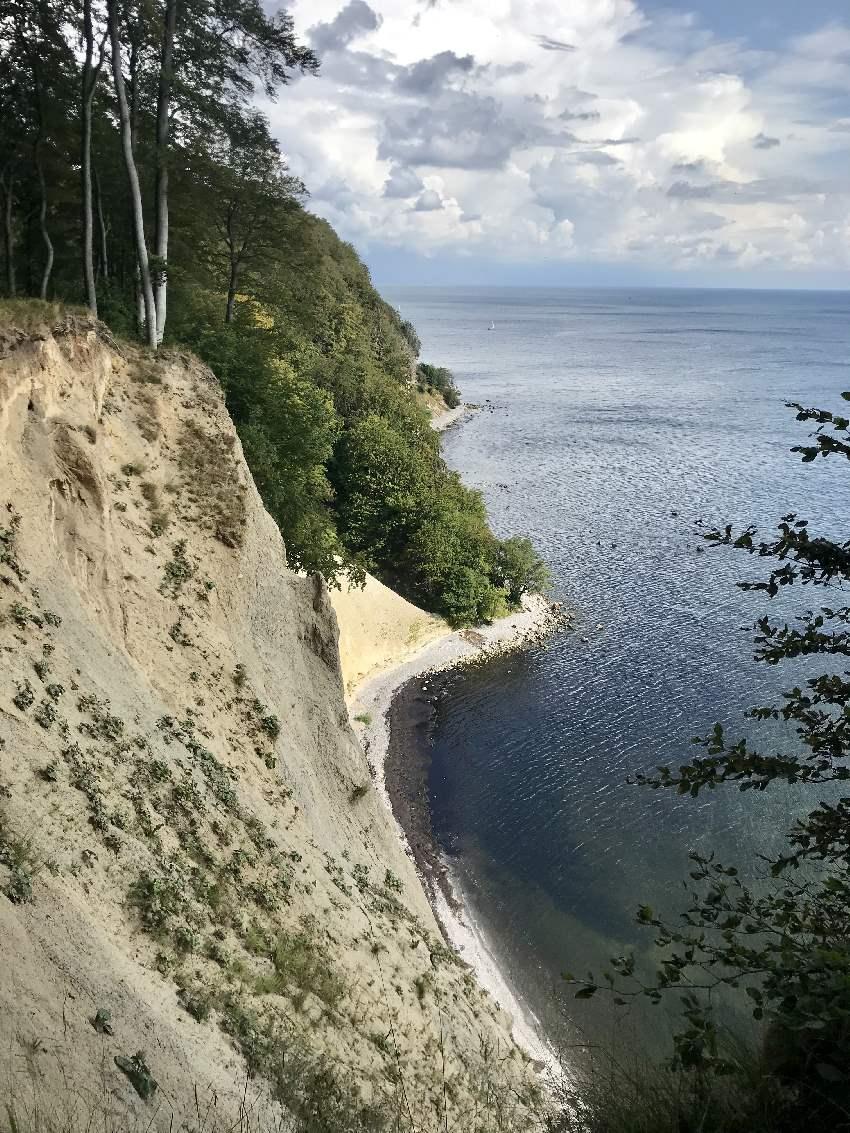 Beeindruckende Aussichten auf die Kreidefelsen Rügen