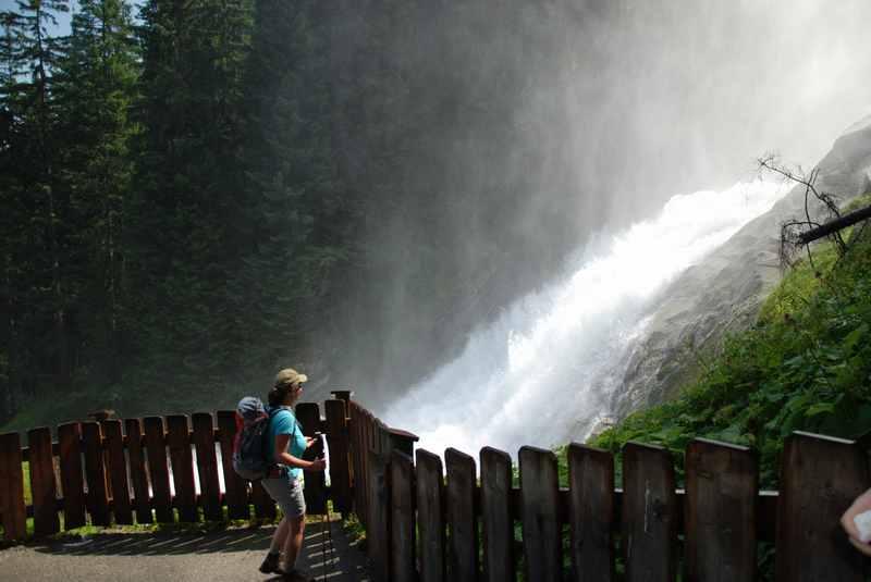 Krimmler Wasserfall - die größten Wasserfälle in Österreich
