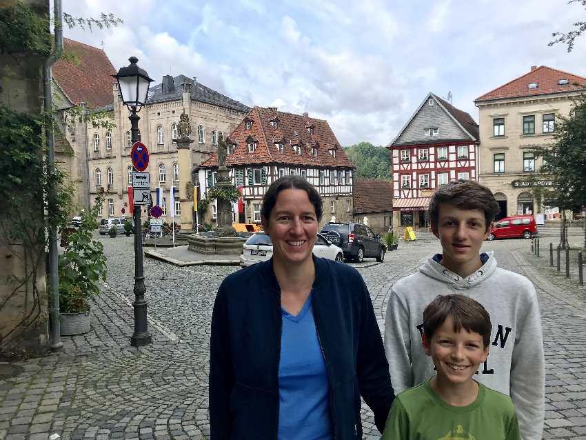 Kronach mit Kindern - unser Spaziergang durch die Altstadt, Start im JUFA Hotel Kronach