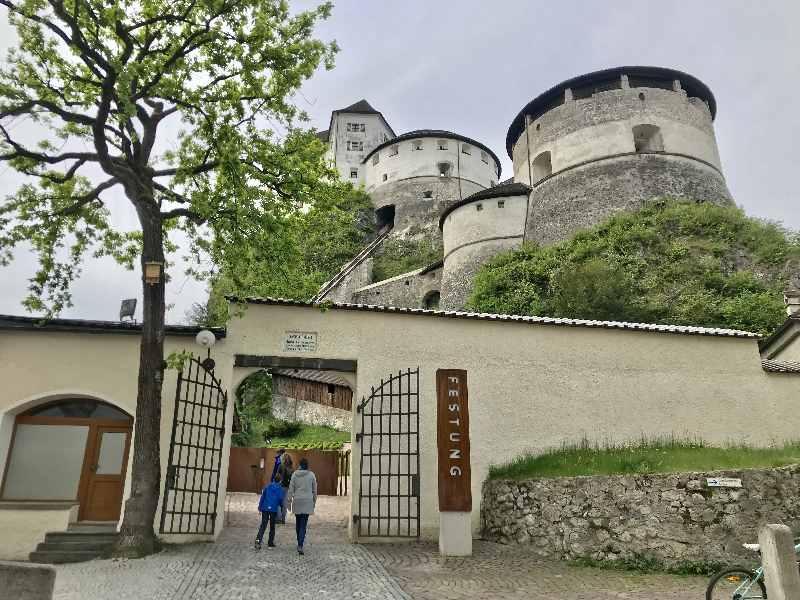 Die Top - Kufstein Sehenswürdigkeiten für Kinder: Besucht mal die Festung Kufstein!