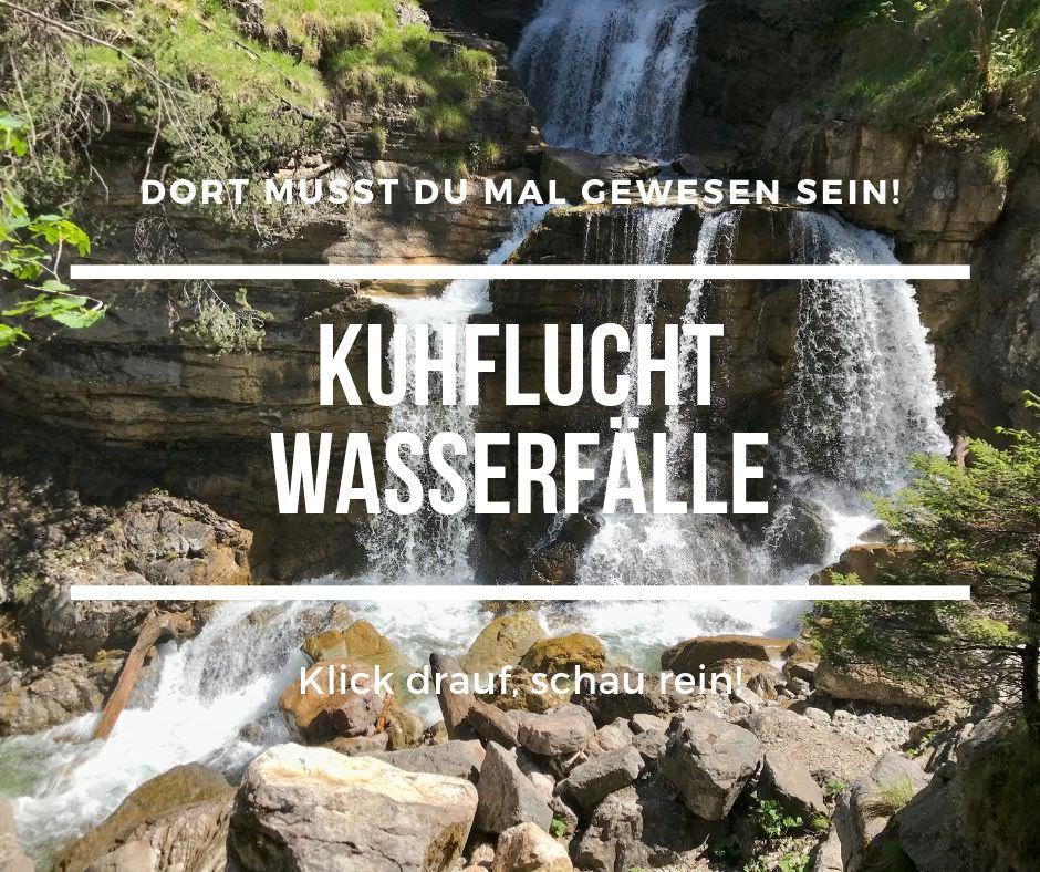 Die Kuhflucht Wasserfälle in Farchant, Garmisch Partenkirchen