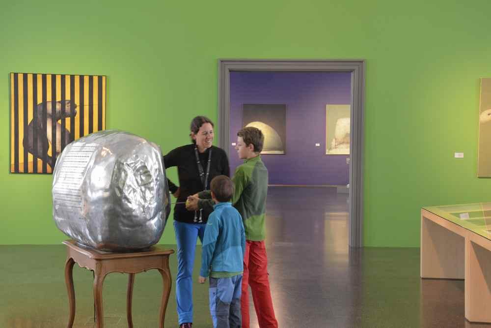 Ein Kunstmuseum zum Anfassen für Kinder in Österreich - auch das ist Stift Admont
