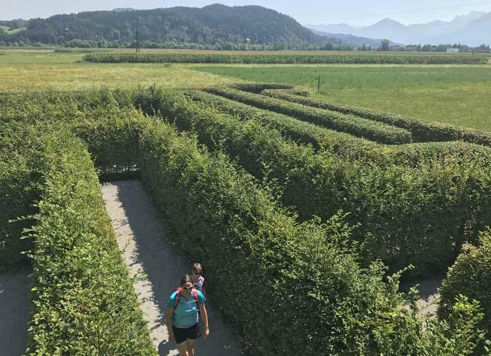 Schloss Rosegg: Das ist das Labyrinth für Kinder in Kärnten