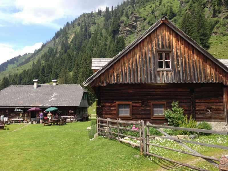 Steiermark wandern: Auf der Lärchkaralm