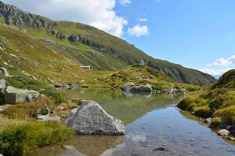Zum Lag Serein wandern mit Kindern in Graubünden