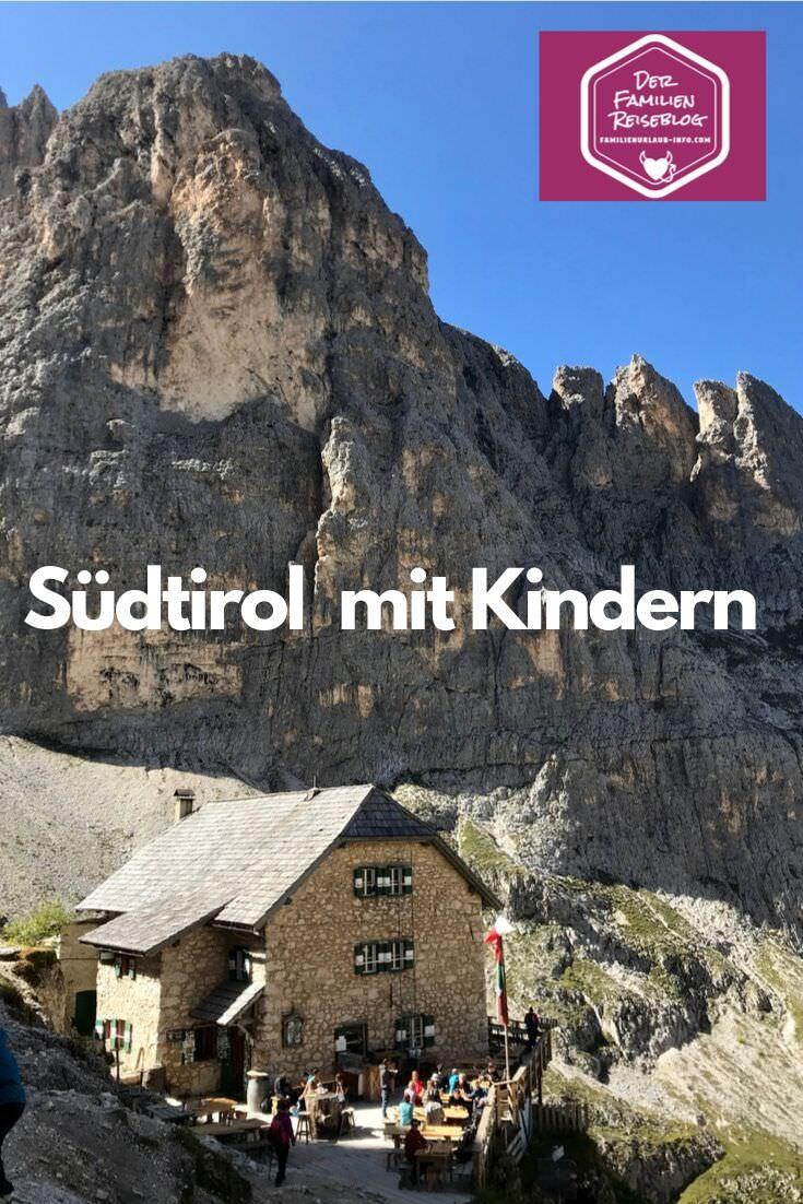 Langkofelhütte in den Dolomiten - merken für den nächsten Südtirol Urlaub mit Kindern