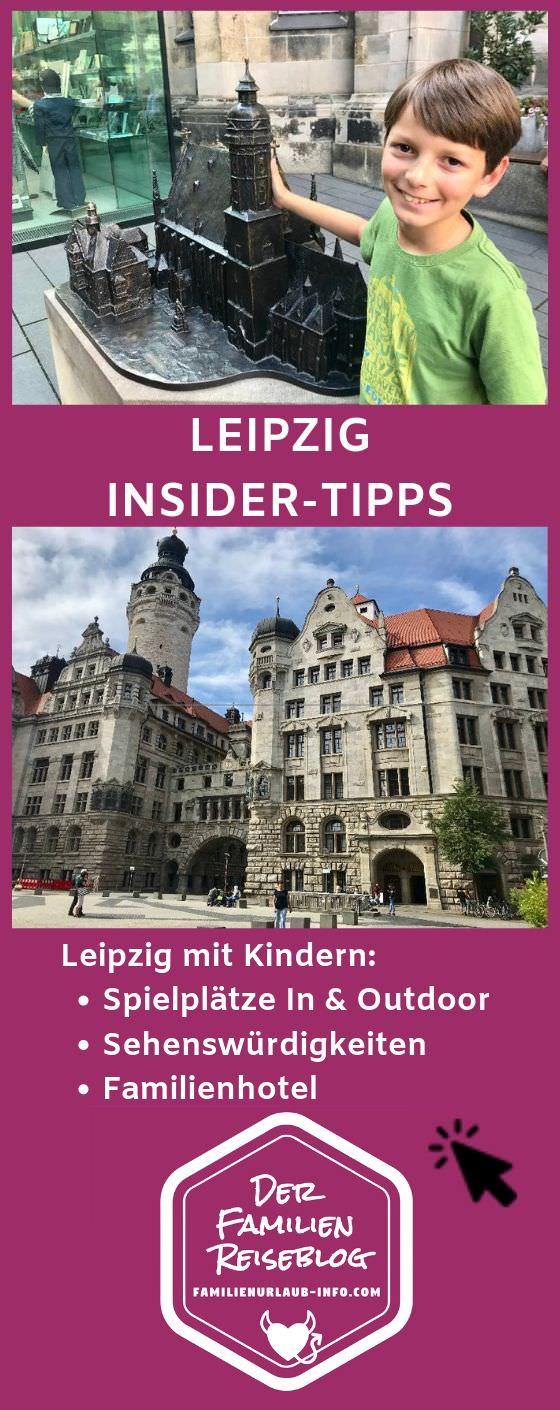 Leipzig mit Kindern Tipps - Merk dir diesen Pin gleich bei Pinterest!