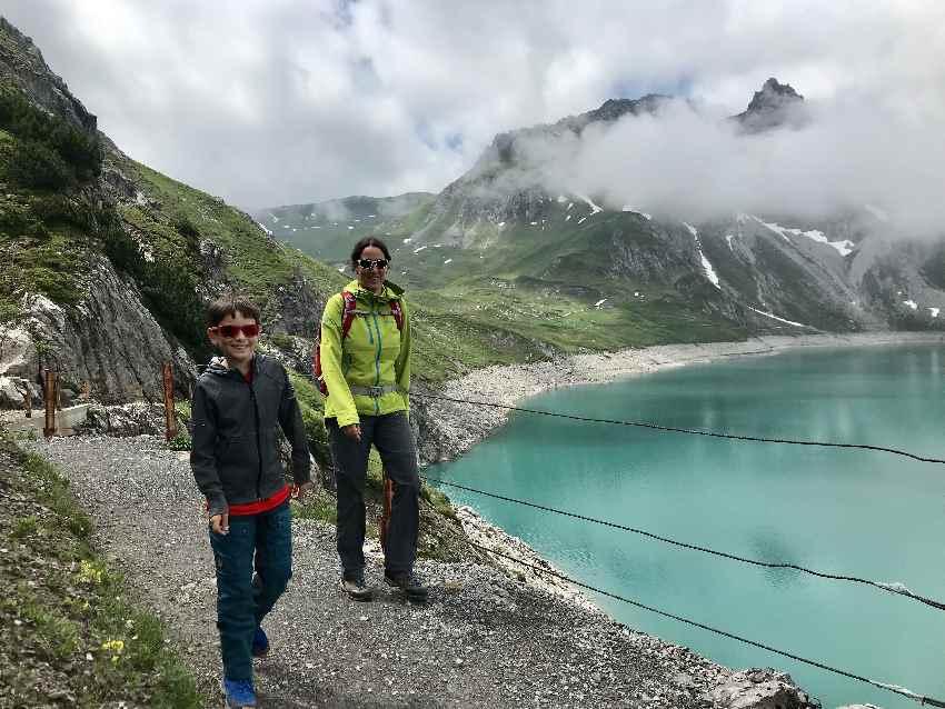 Wunderbar: Unser Tag im Familienurlaub Vorarlberg am Lünersee