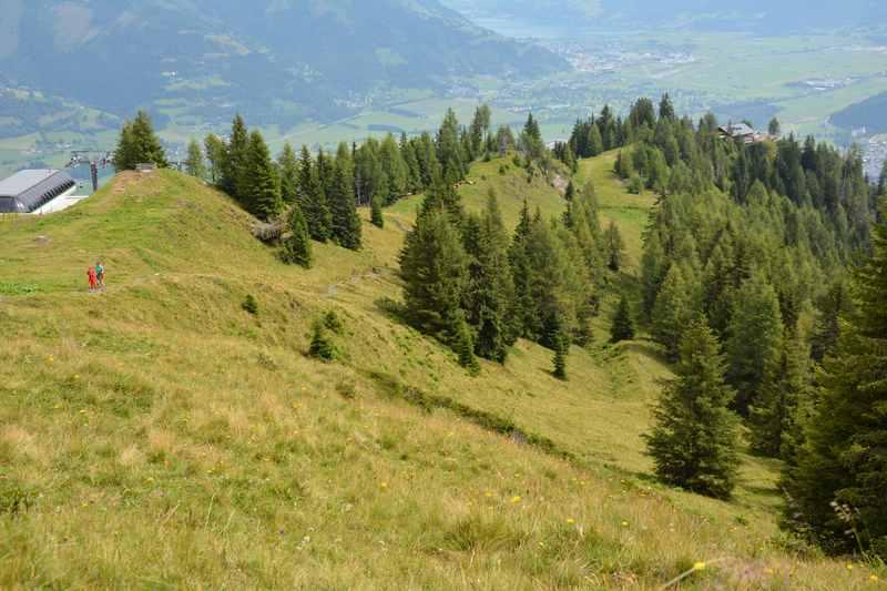 Der Maiskogel - von Kaprun mit der Bergbahn hinauf zum wandern