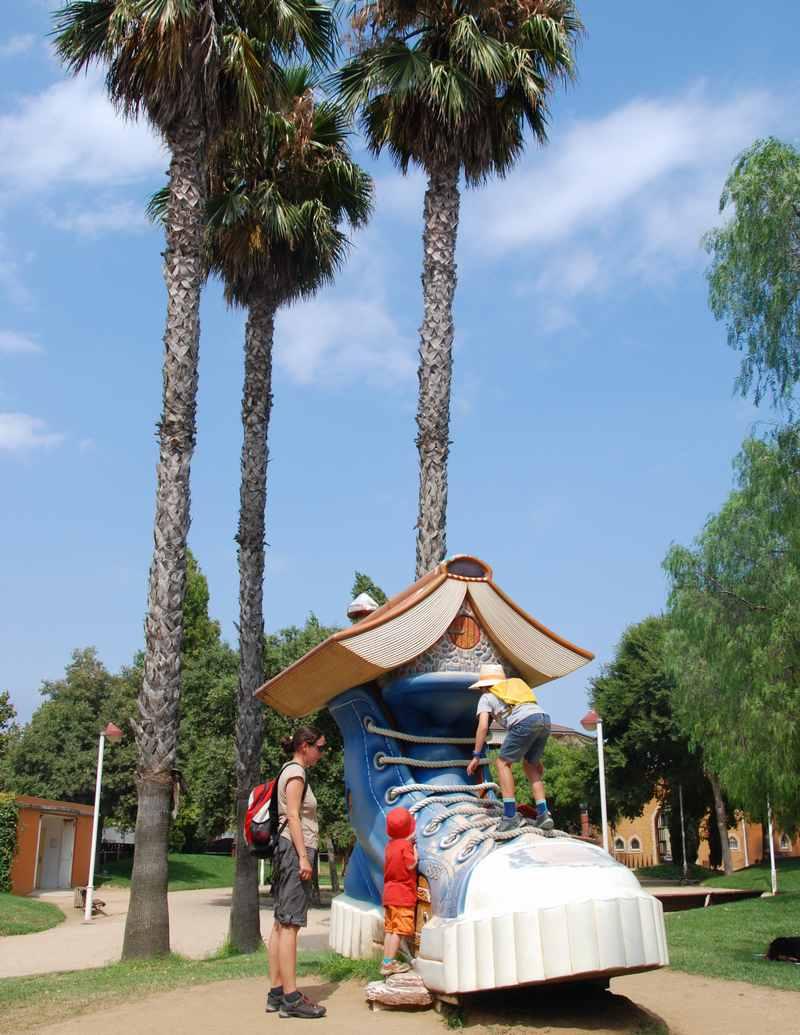 Malgrat del Mar Sehenswürdigkeiten: Der  Parc Francesc Macià