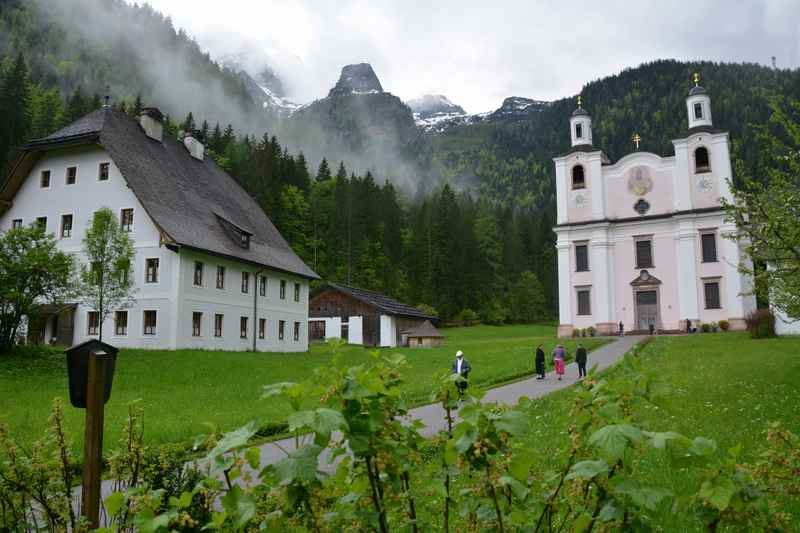 Leichte Maria Kirchenthal Wanderung zur Wallfahrtskirche Lofer