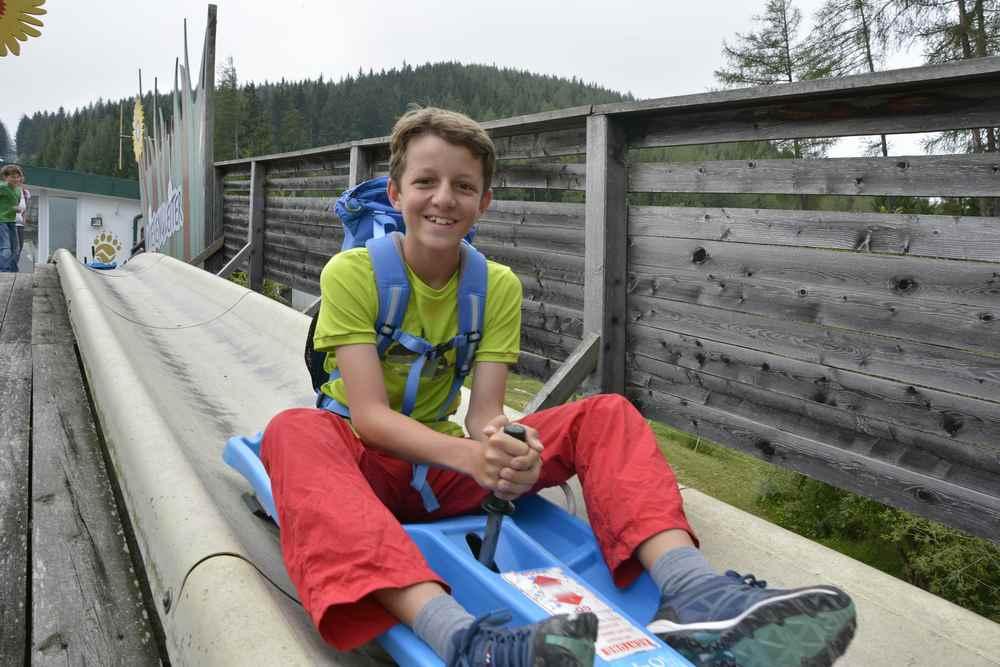 Oder die Sommerrodelbahn - der Wiesenflitzer, Erlebnis Wilder Berg Mautern