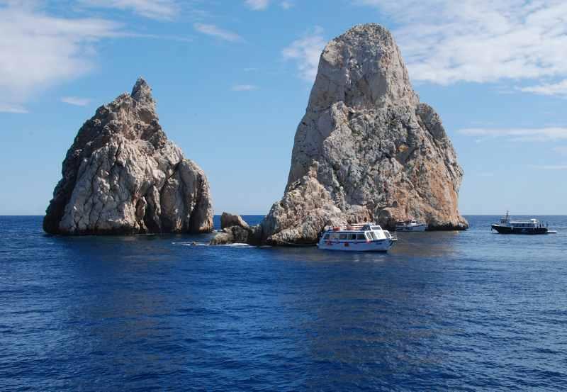 Die berühmten Medes Inseln sind die L´Estartit Sehenswürdigkeiten