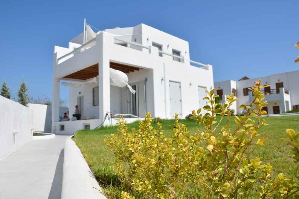 Von diesem Ferienhaus in Milos haben wir die Insel erkundet