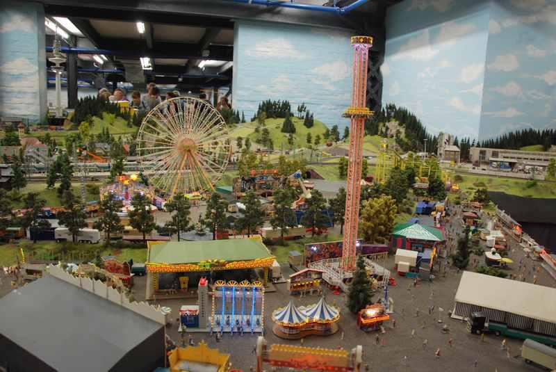 Das Miniaturmuseum Hamburg - zu sehen ist auch Hamburg in klein, unbedingt besuchen!