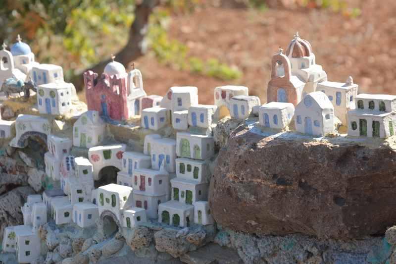 Miniaturmuseum Paros: Santorini als Modell