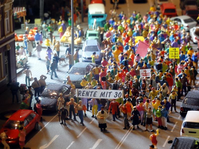 In der Miniaturwunderwelt Wien - über 21.000 Figuren sind zu bewundern, Foto: Tirolerland Wien