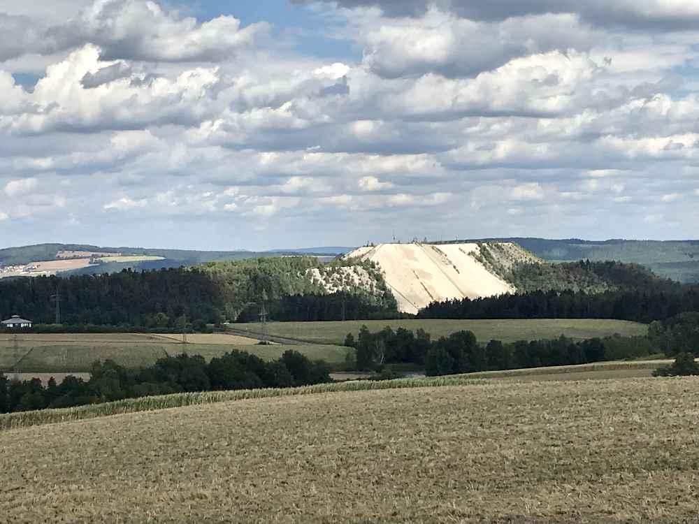 Der Blick auf den Monte Kaolino - eine der Oberpfalz Sehenswürdigkeiten
