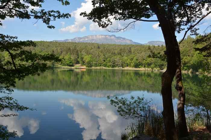 Montiggler See mit Kindern - toll in Südtirol!