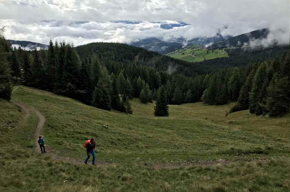 Meransen Wandern mit Kindern: Zur Moserhütte in Südtirol