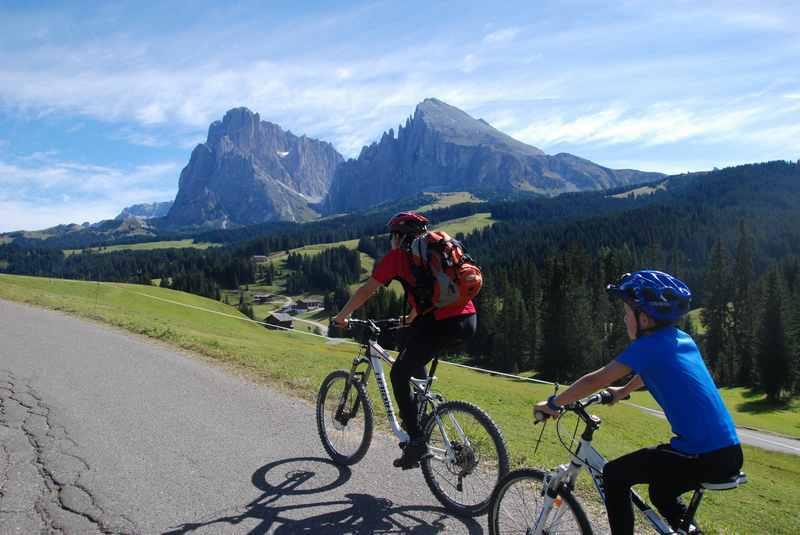 Mountainbiken mit Kindern: Wunderschöne Mountainbiketour in Südtirol