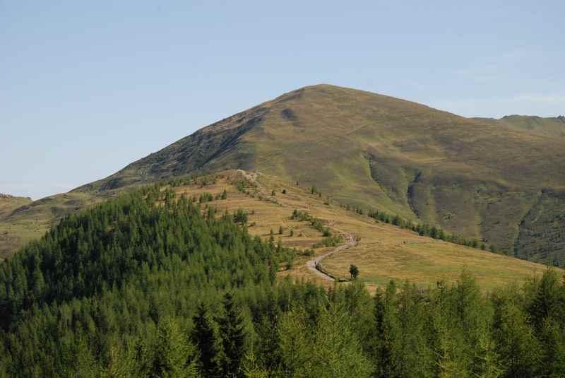 Im Nationalpark Nockberge wandern mit Kindern - der Gipfel ist der Mallnock