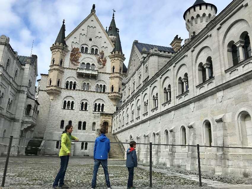 Neuschwanstein Schloss und Ausflugsziel - sogar kostenlos für Kinder!