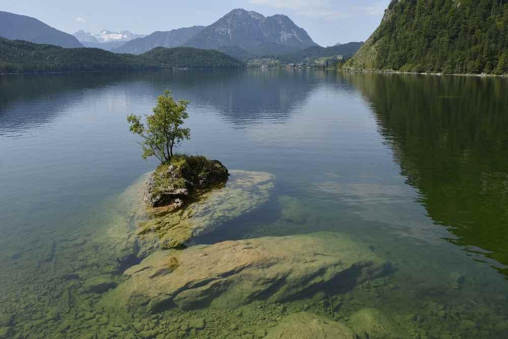 Familienurlaub am See Österreich: Besonders natürlich und schön mit Kindern ist der Ausseer See im Salzkammergut