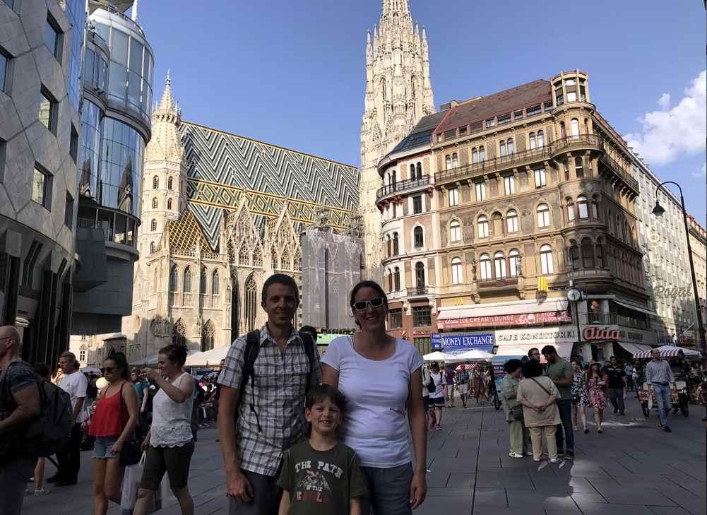 Städtereise Österreich:  Wien ist bekannt und beliebt für einen Kurzurlaub mit Kindern