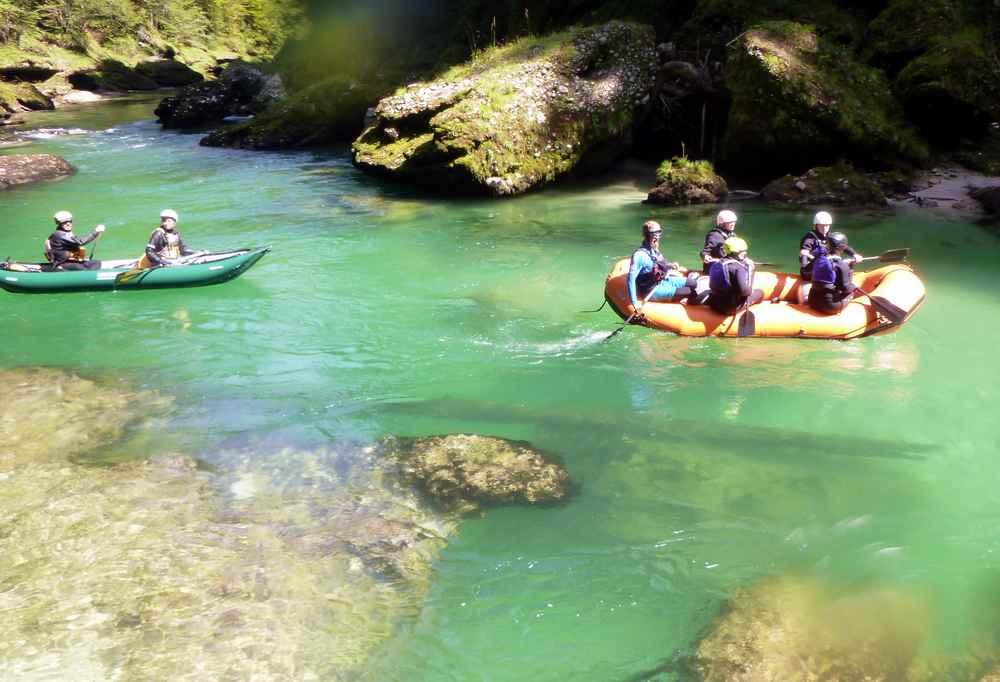 So war das Rafting auf der Salza bei Admont in der Steiermark
