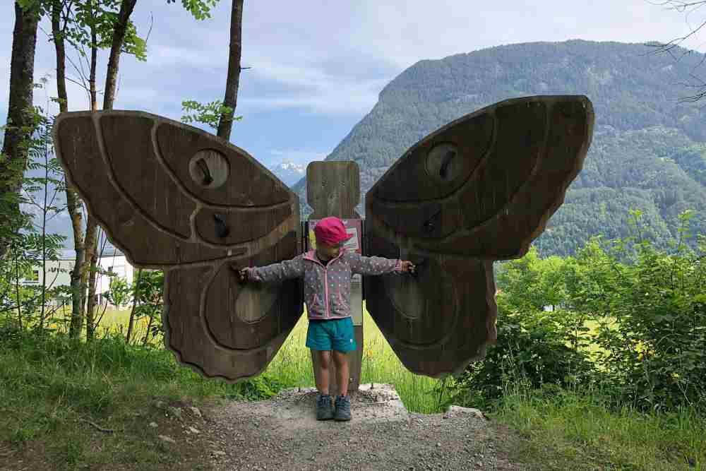 Der Spielplatz mit Wanderung im Ötztal - Waldspielplatz in Sautens