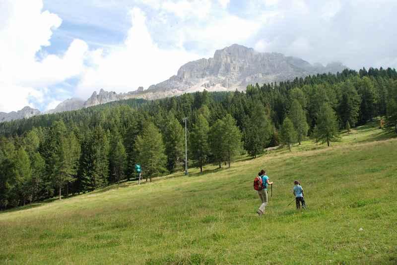 Obereggen wandern mit Kindern in Südtirol