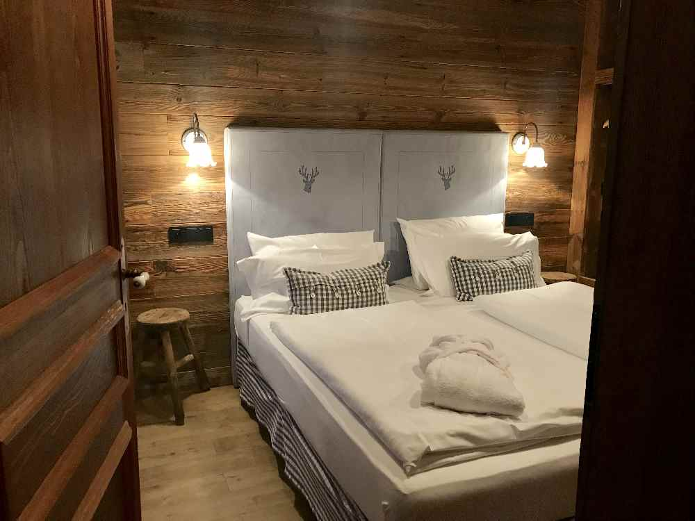 Das ist die Luxus-Ferienwohnung im Alpin Chalet Oberstaufen, gehört zum Alpenblickhotel Oberstaufen