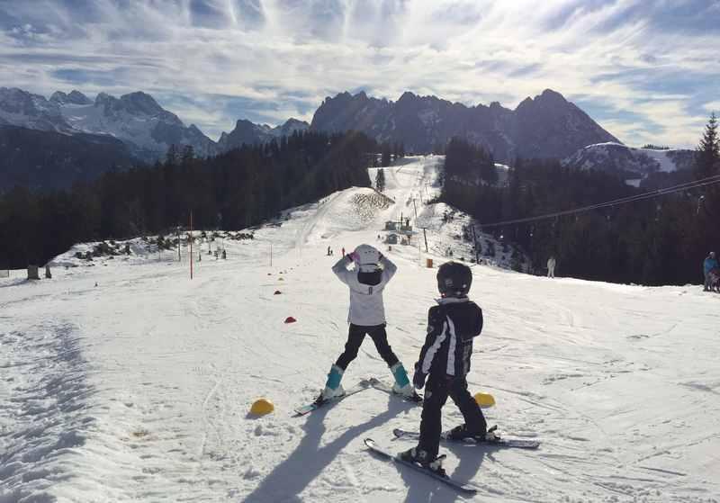 Skifahren in der Sonne-perfekt im Osterurlaub