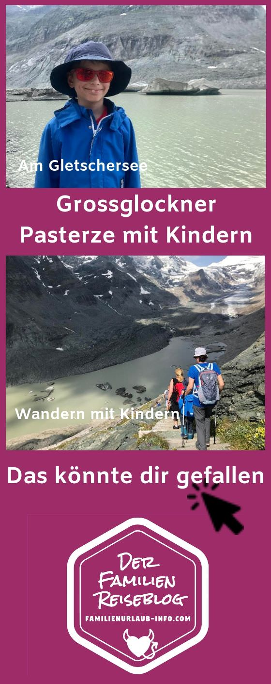 Wandern mit Kindern in Kärnten: Lehrreich und unbedingt zu empfehlen, solange es diesen Gletscher in Kärnten noch gibt!
