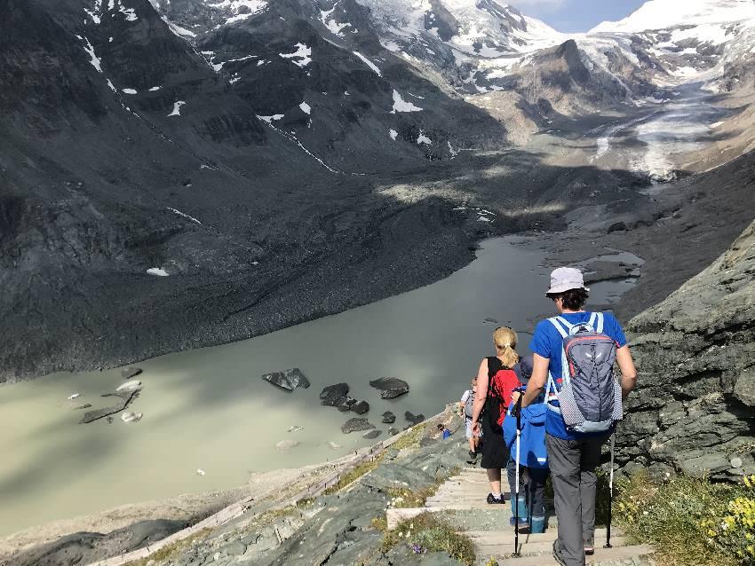 Lehrreich und unbedingt zu empfehlen, solange es diesen Gletscher in Kärnten noch gibt!