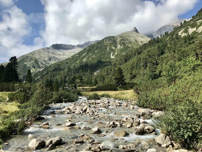 So schön ist der Zemmbach beim Schlegeisspeicher, Zillertal