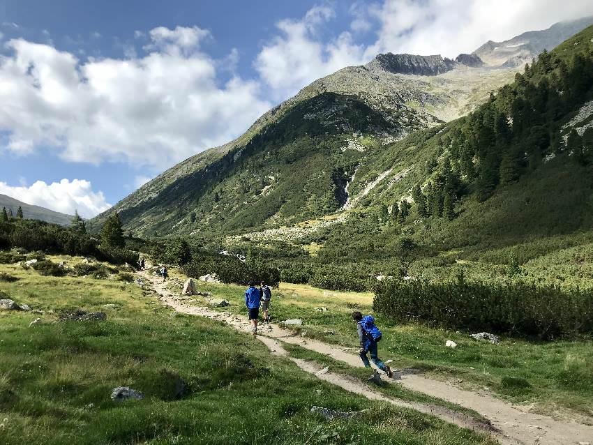 Die Pfitscher Joch Wanderung im Zillertal mit Kindern