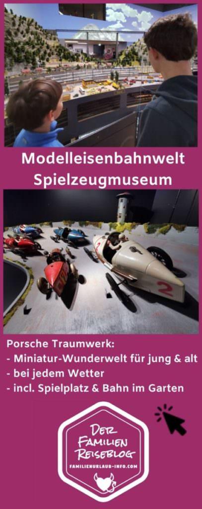 Hans - Peter Porsche Traumwerk - ein Traum für Kinder, am besten gleich merken für den nächsten Ausflug mit Kindern