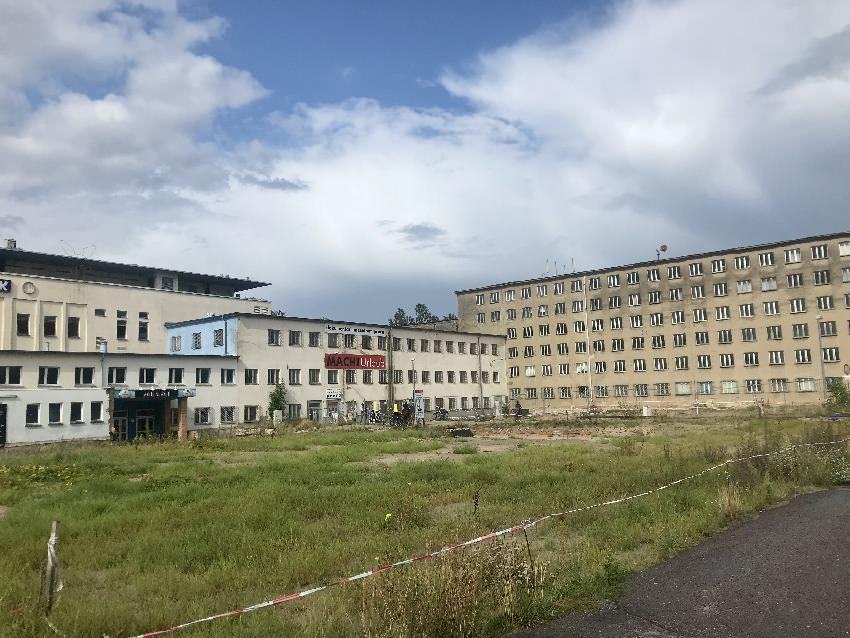 Zeugnis der Geschichte: Die alten Häuser in Prora
