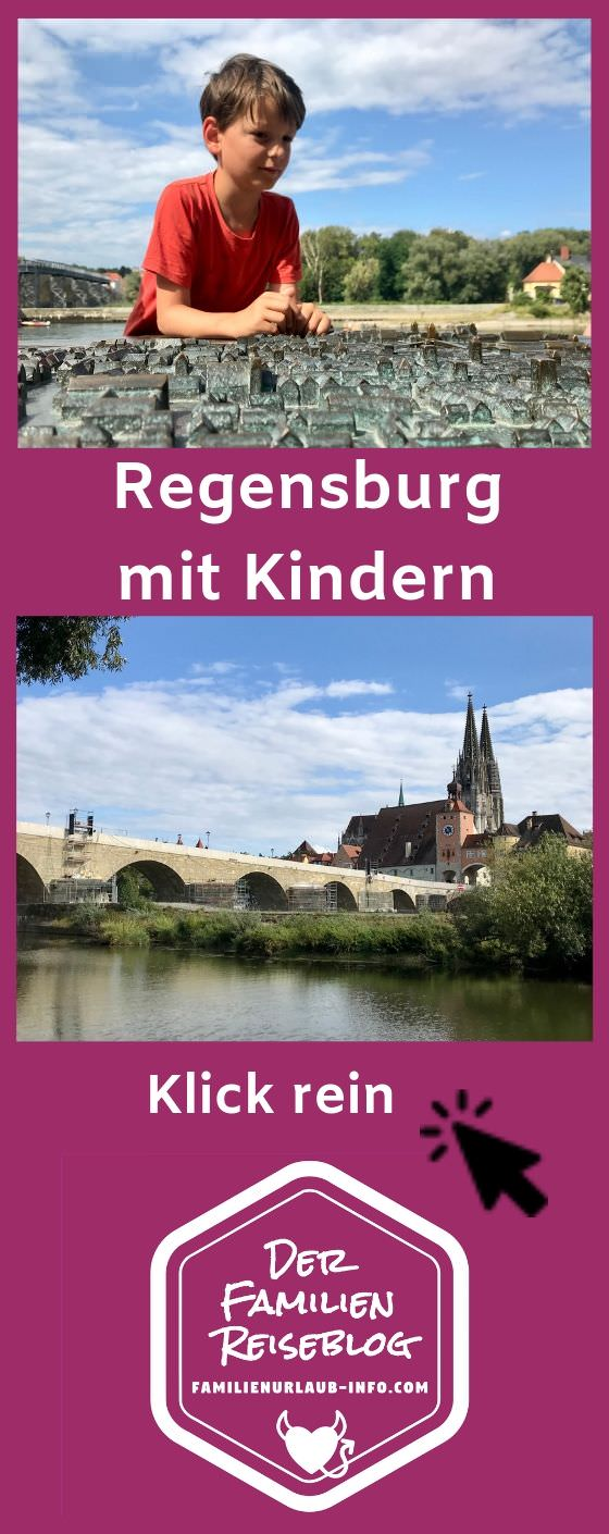 Merk dir gleich meine Tipps für Regensburg mit Kindern - mit diesem Pin geht´s gut bei Pinterest