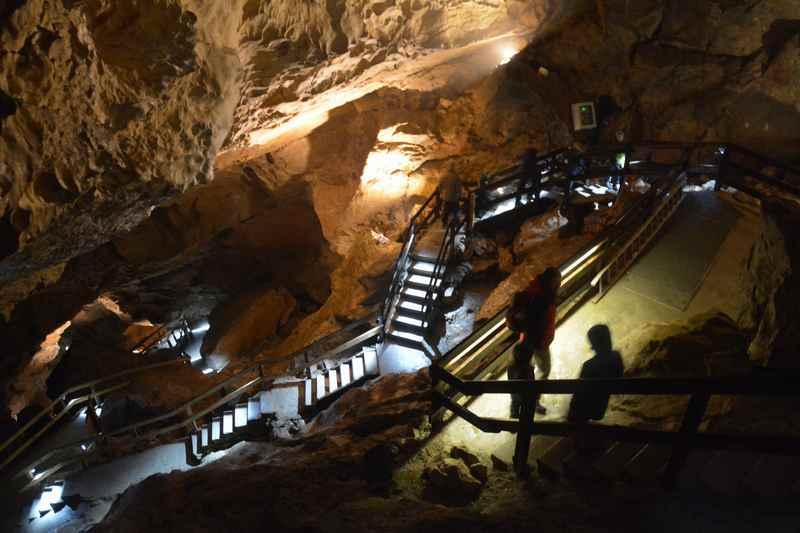 Schlechtwetterprogramm Salzburg mit Kindern: Unser Ausflug in die Lampechtshöhle